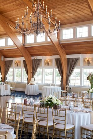 Manahawkin, New Jersey, Gold Chiavari Chairs
