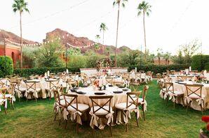 Scenic Outdoor Reception in Arizona