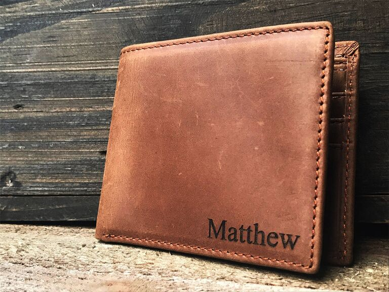 Yours Personalized customizable mens wallet