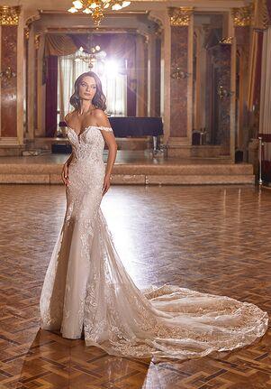 Moonlight Couture H1476 Mermaid Wedding Dress