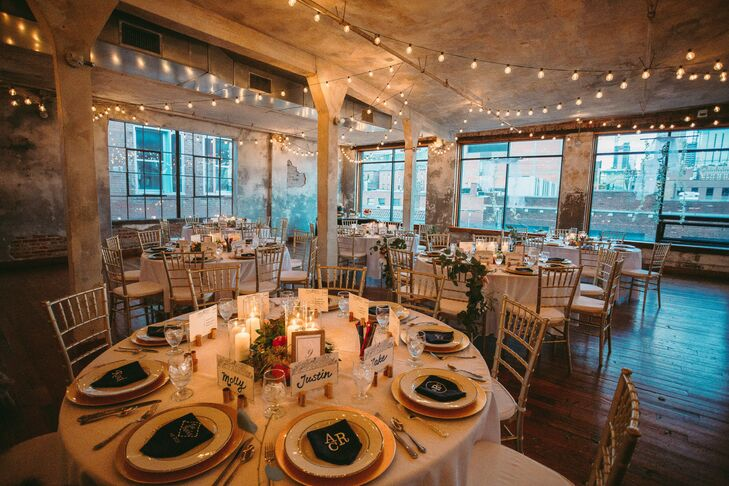 Modern, Romantic Loft Reception at The Bauer in Kansas City, Missouri
