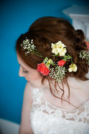 Bohemian Natural Flower Hair Accessories