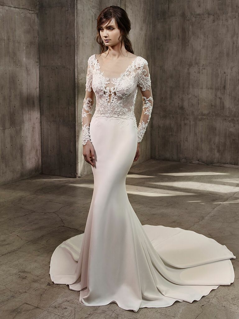 Badgley Mischka Fall 2017 Collection Bridal Fashion Week Photos
