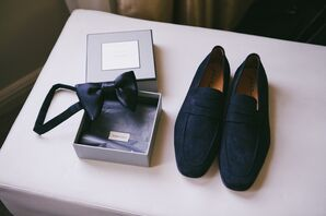 Bow Tie and Velvet Shoes