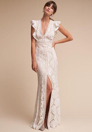 BHLDN Placid Sheath Wedding Dress