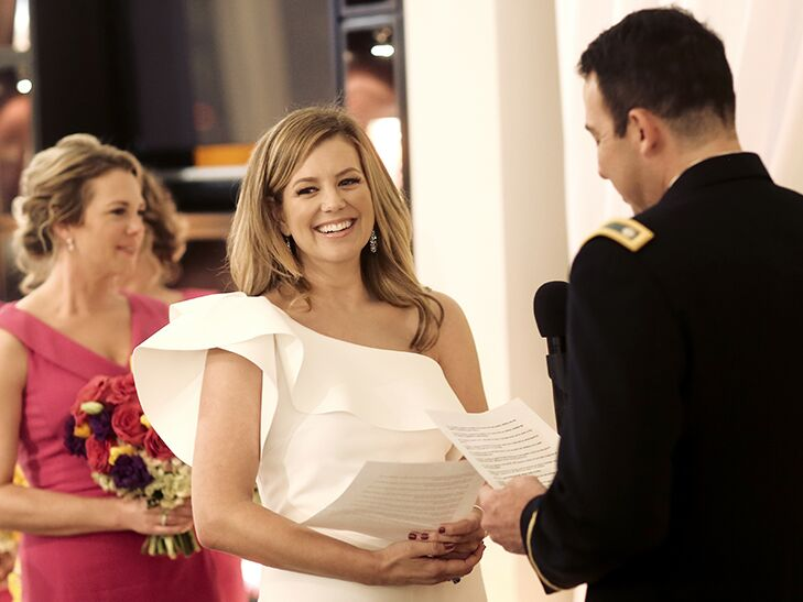 Brianna Keilar and Fernando Lujan's wedding ceremony in Las Vegas