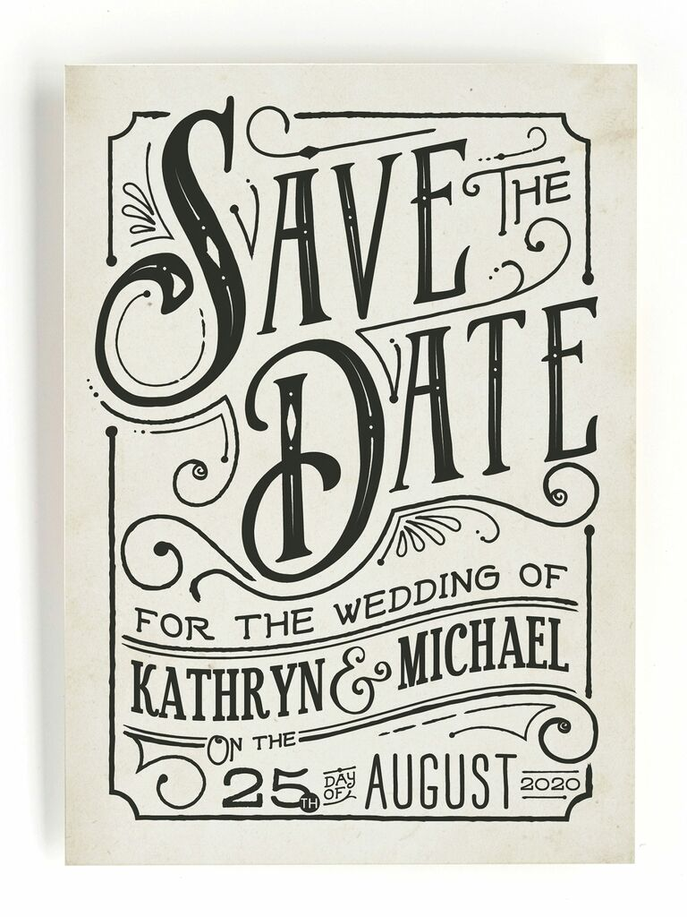 inked save the date
