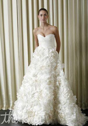 Monique Lhuillier Sunday Rose A-Line Wedding Dress