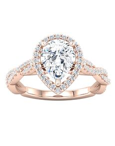 ever&ever Glamorous Princess, Asscher, Cushion, Emerald, Heart, Marquise, Pear, Round, Oval Cut Engagement Ring