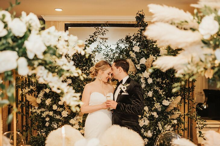 Caitlin Schlosser and Marco Puccia wanted to do something different for their wedding celebration. They decided to have a microceremony with 20 of the