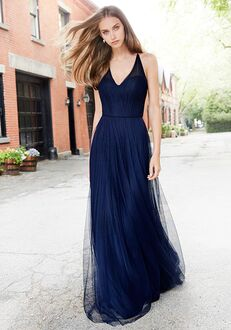 Hayley Paige Occasions 5758 V-Neck Bridesmaid Dress