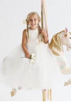 FATTIEPIE Snowlace Flower Girl Dress