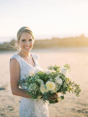 Large White Bridal Bouquet