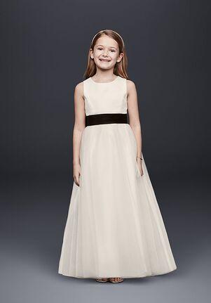 David's Bridal Flower Girl David's Bridal Style S1038 Ivory Flower Girl Dress
