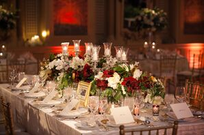Traditional Winter-Inspired Centerpieces