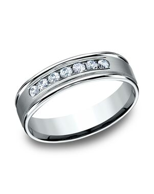 Benchmark RECF516516W White Gold Wedding Ring