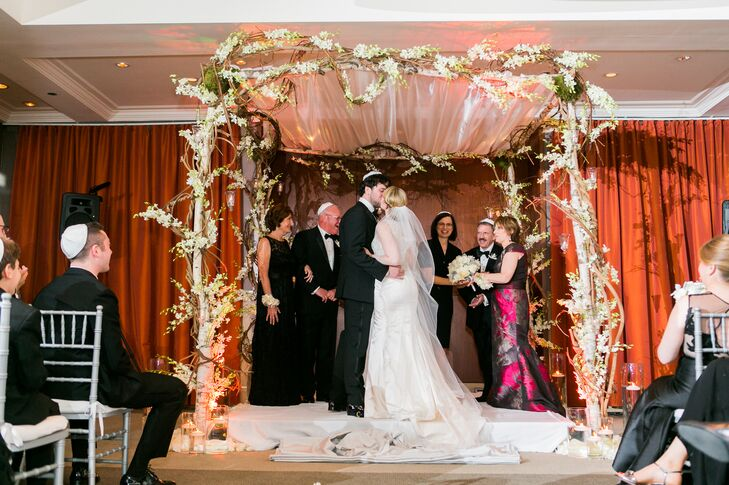 Jewish Wedding Ceremony at Le Parker Meridien