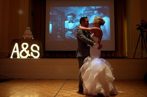 Bride and Groom First Dance to Casablanca