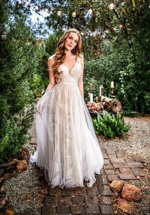 All Who Wander Sage A-Line Wedding Dress