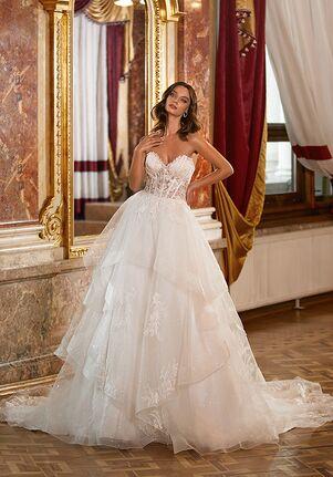 Moonlight Couture H1474 A-Line Wedding Dress
