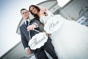 Newlyweds Say Thank You