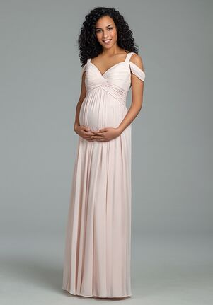 Hayley Paige Occasions 5820 V-Neck Bridesmaid Dress