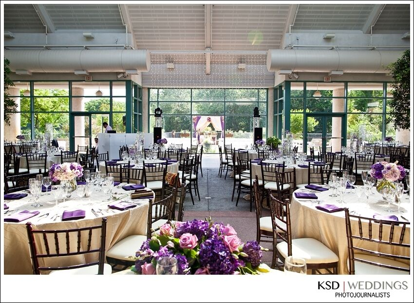 The Atrium At Meadowlark Botanical Gardens Reception Venues Vienna Va