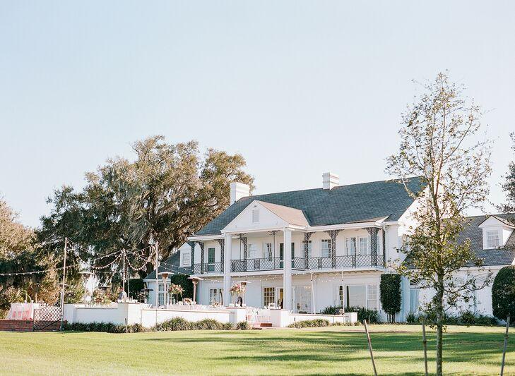 Wedding at The Adams Estate in Lake Alfred, Florida