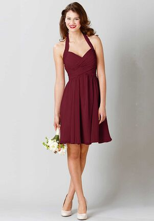 Kennedy Blue Lucy Halter Bridesmaid Dress