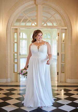 Stella York 6840+ A-Line Wedding Dress