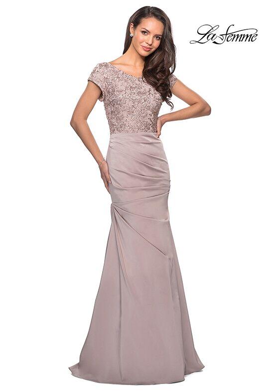 ac0465715d La Femme Evening 26806.  500- 599 · Website. La Femme Evening 26806  Champagne Mother Of The Bride Dress