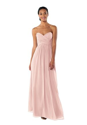 df8270df9222d Brideside Brideside Charlotte in Blush Sweetheart Bridesmaid Dress