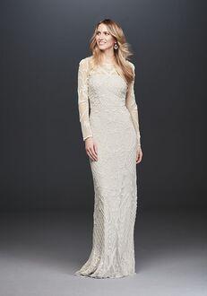 David's Bridal DB STUDIO Style WGIN718 Sheath Wedding Dress