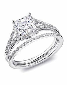 Coast Diamond Glamorous Princess Cut Engagement Ring