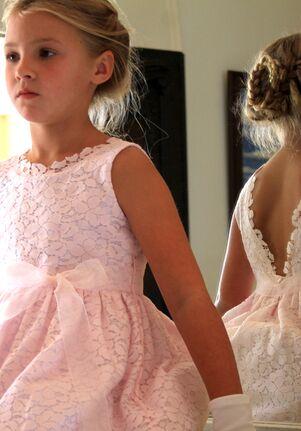Isabel Garretón Mirage Pink Flower Girl Dress