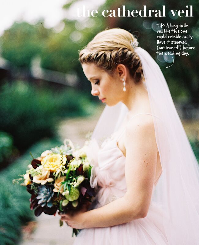 Wedding Veils Styles: New Wedding Veil Styles Plus Tips To Wearing Them