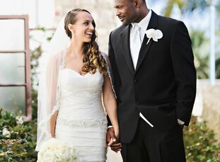 The Bride Teela Harris, 28, a business development executive The Groom Jarrad Page, 28, a professional athlete The Date March 24  A jewel-tone color p