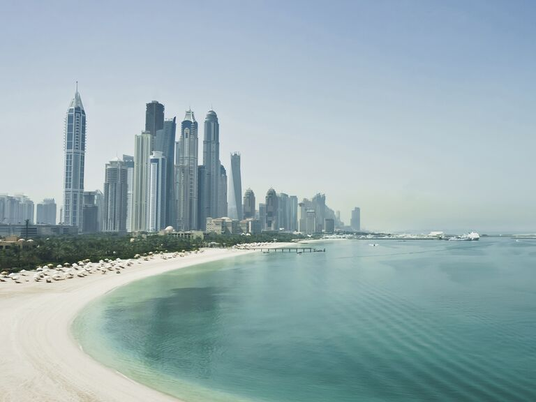 Exotic honeymoon Dubai, United Arab Emirates