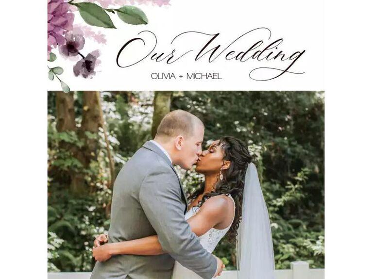 Our Wedding photo book