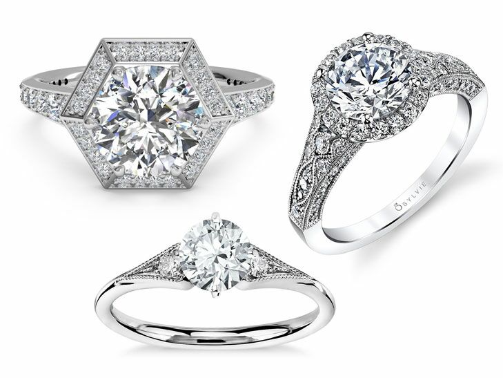 11 Vintage Inspired Engagement Rings We Re Obsessed With