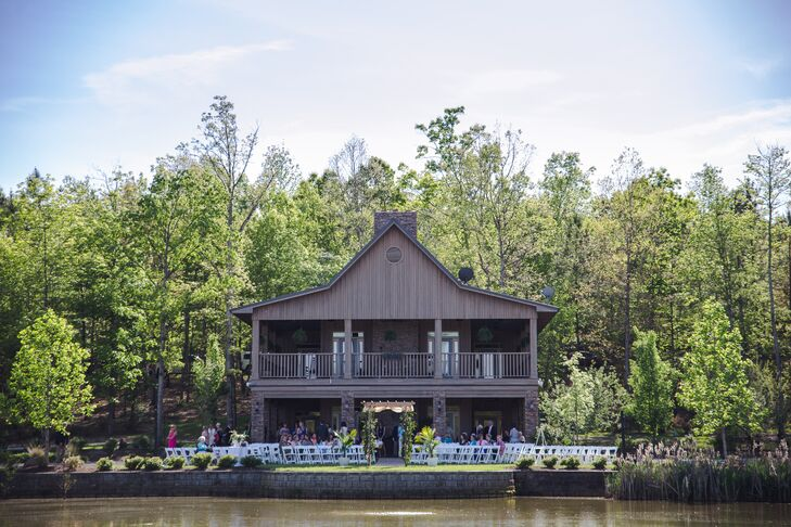 Rock Bottom Pond Waterfront Wedding Venue