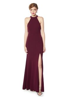Bill Levkoff 1709 Halter Bridesmaid Dress