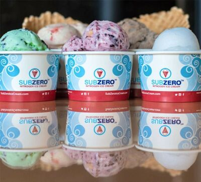 Sub Zero Nitrogen Ice Cream Catering