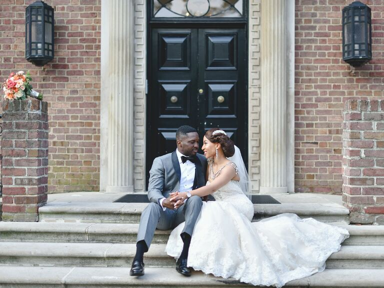 Maryland front porch wedding