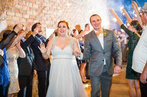 Beaded Flowy Hayley Paige Wedding Dress