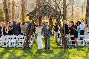 Outdoor Gazebo Ceremony at The Farm - A Gathering Place