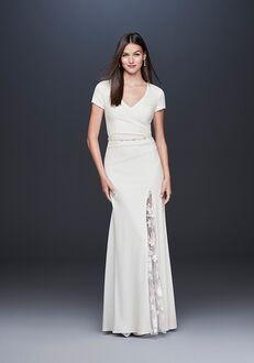 David's Bridal DB Studio Style DS870092 Sheath Wedding Dress