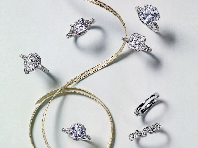 Diamond engagement ring shapes
