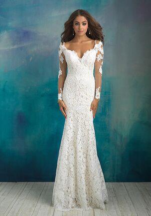 Allure Bridals 9519 Sheath Wedding Dress