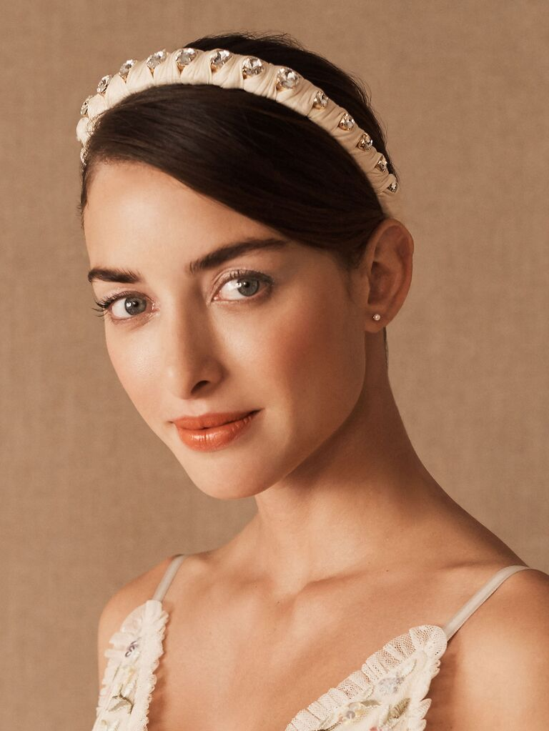 Rhinestone vintage crown